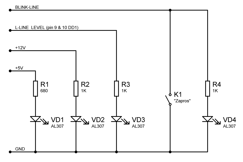 схема k/l адаптер usb